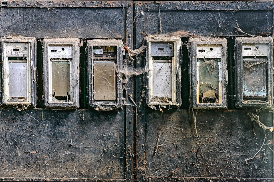Old Electricity Meters