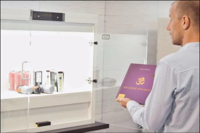 IoT-Regal: Biometrisches Shopping