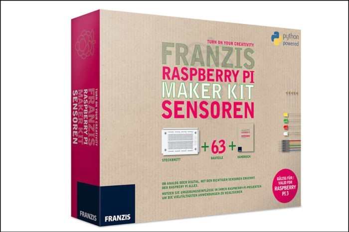 Raspberry Pi Maker Kit: IoT zum Anfassen