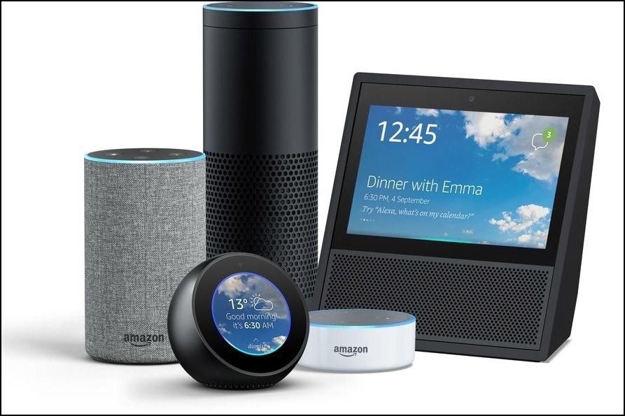 Alexa auf Amazon Echo Produkten