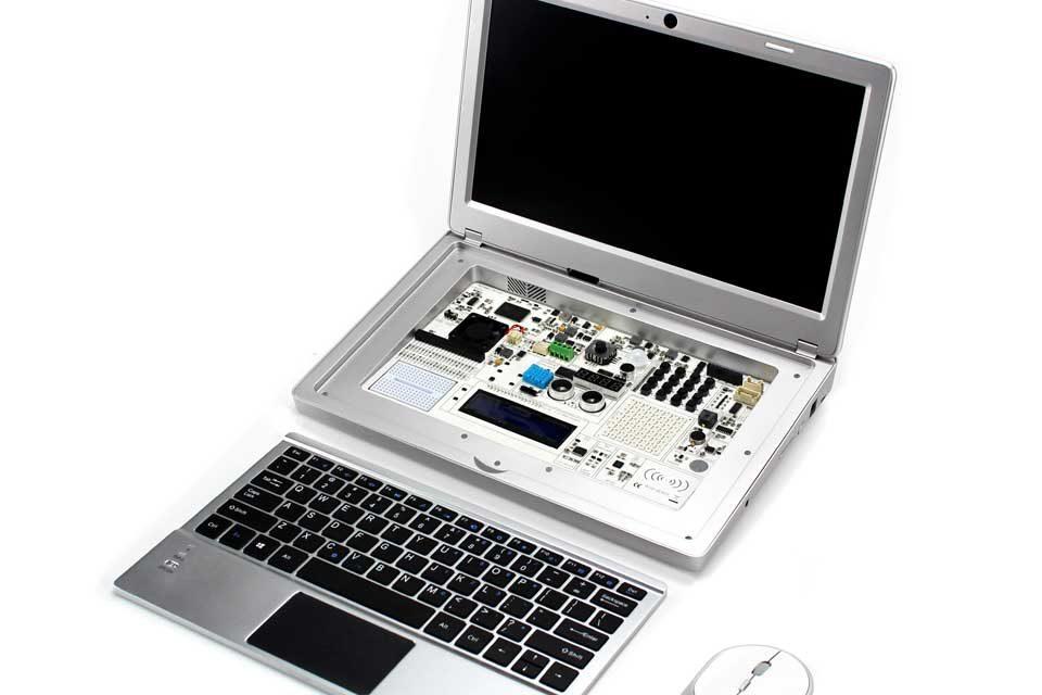CrowPi2: Der Raspberry Pi wird zum Lern-Laptop